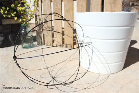 30 thursday diy wire garden globes set of 3 the wood