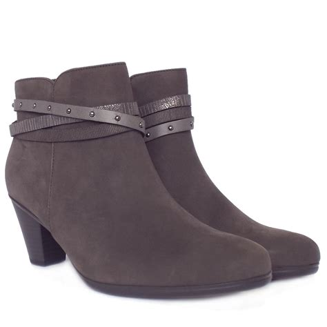 gabor solero s mid heel fashion ankle boots in