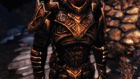 skyrim dragon armor retexture dragon carved armor set weathered retexture at skyrim