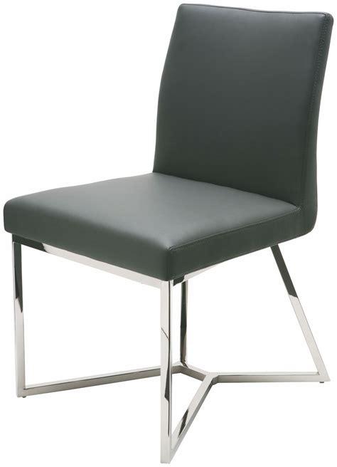 Naugahyde Chair by Patrice Grey Naugahyde Dining Chair Hgtb162 Nuevo
