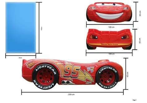 cars betten autobett mcqueen disney cars lightning bett cars