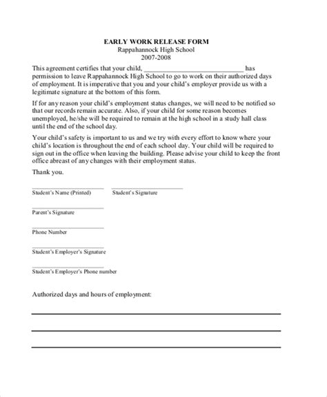 Release Letter Sle