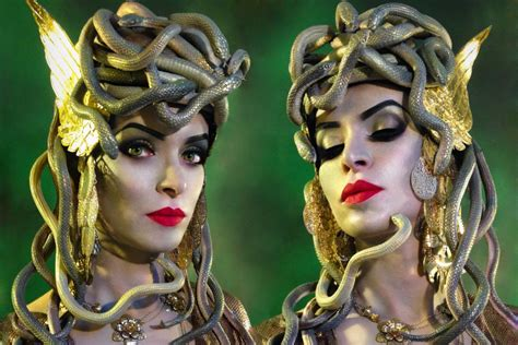 medusa make up and hairstyle youtube