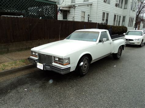 car with a truck bed hooniverse weekend edition a cadillac pickup via