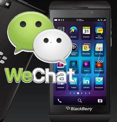 cara membuat virus wechat download dan instal software wechat bb z10