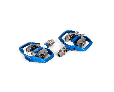 New Pedal Shimano M995 Special Edition Anniv 25th shimano xtr blue spd pedal 25th anniversary limited edition ebay