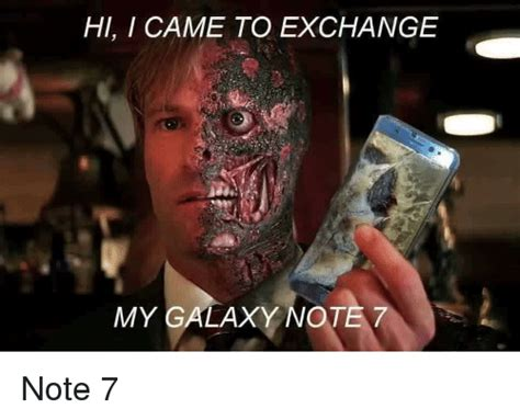 Galaxy Phone Meme - samsung s galaxy note 7 fiasco is causing the internet to