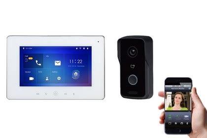 visiophone sans fil 423 acheter un interphone vid 233 o sans fil pour maison pas cher