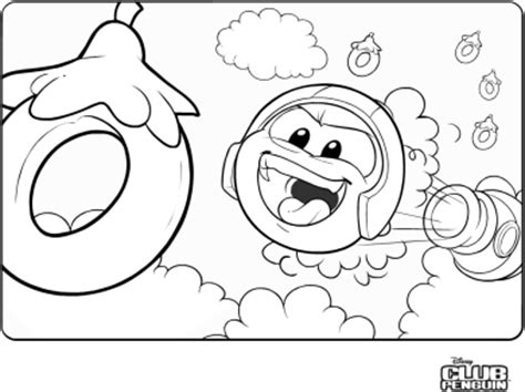 saraapril in club penguin puffle launch coloring page