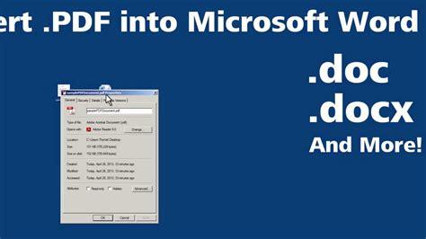 convert pdf to word using chrome convert pdf into microsoft word youtube