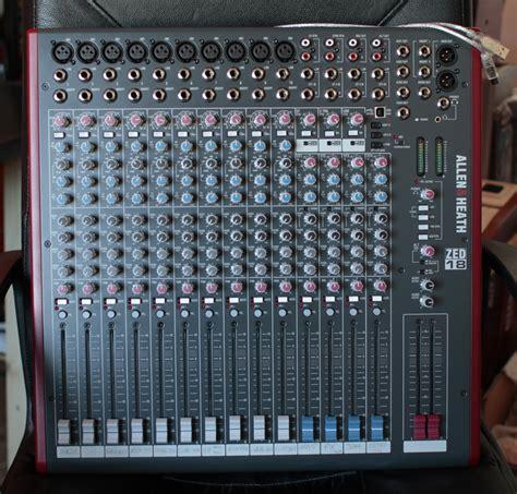 Mixer Allen Heath Zed 14 allen heath zed 14 image 737881 audiofanzine