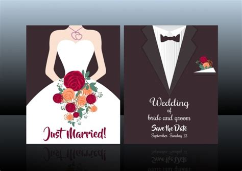 template for wedding card from to groom wedding card cover template groom fashion background