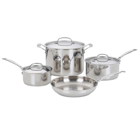 Oxone Classic Cookware Set cuisinart chef s classic 7 stainless steel cookware