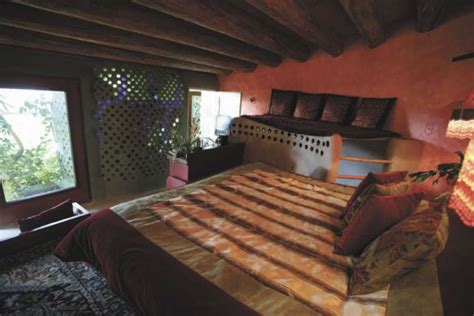 Bexar County Arrest Records Taos The Master Bedroom In The Earthship Near Taos Gives An Photo 6313717 85912