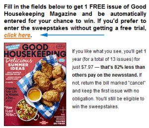 Good Housekeeping Magazine Sweepstakes - goodhousekeeping com storks good housekeeping storks sweepstakes