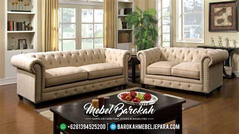 Sofa Set Kayu set sofa tamu minimalis modern kayu jati mewah terbaru jk