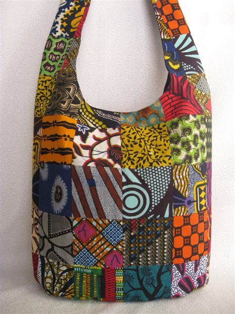 Patchwork Sling Bag - print patchwork sling bag ethnic from bohorain on etsy