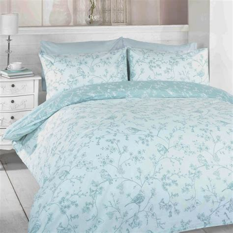 toile blue birds duvet cover set tonys textiles