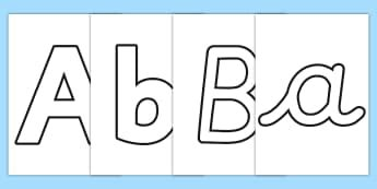 display letters words early years eyfs display letters