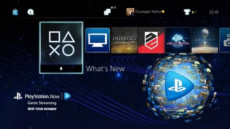 themes ps4 store free playstation now ps4 dynamic theme just released by