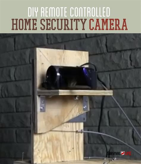 how to make a remote controlled home security