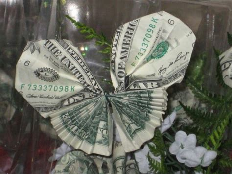 Butterfly Origami Money - dollar origami money butterfly do it myself