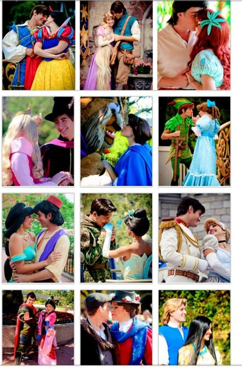 this couple really really loves disney disney couples wendy peter pan flynn rapunzel are my