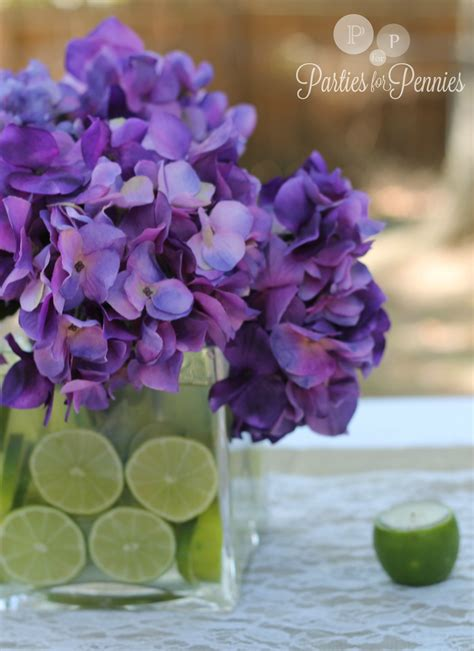 purple and green wedding shower decorations wedding centerpiece 3 for pennies
