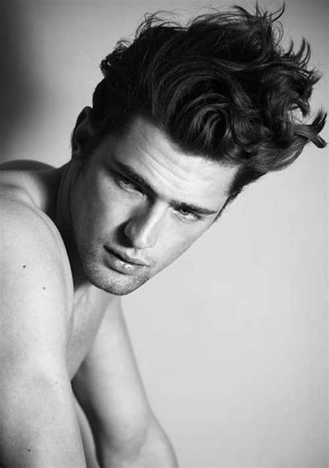 thick hair models 10 hairstyles for men with thick hair mens hairstyles 2018