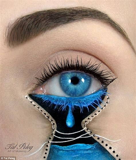 eye on design make up artist tal peleg creates incredible eye art
