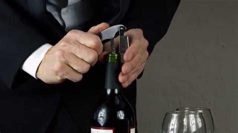 come si apre una come si apre una bottiglia di vino da vero sommelier