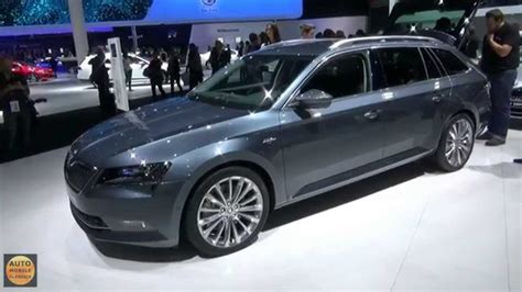 skoda superb kombi iaa frankfurt  youtube