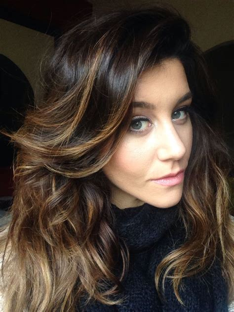 enchanting looks with brown hair with caramel