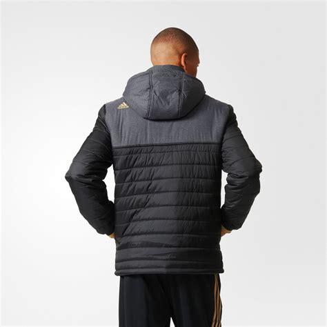 Jaket Predator Juventus Black adidas juventus fc ucl padded jacket black football gold equipment football shirt