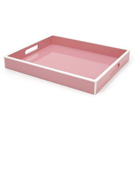 home decor trays trays pink high gloss vanity tray so beautiful one of