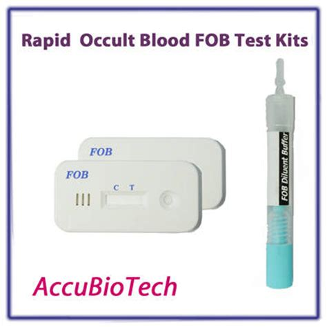 stool occult blood test kit sell fecal occult blood fob rapid test kits
