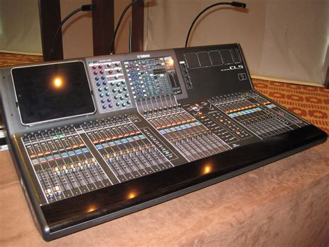 Mixer Yamaha Cl Series yamaha audio retreat with dealers in golden palm tree