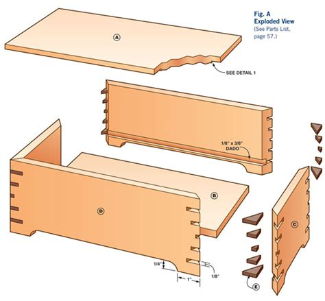 keepsake box diy jewelry box plans