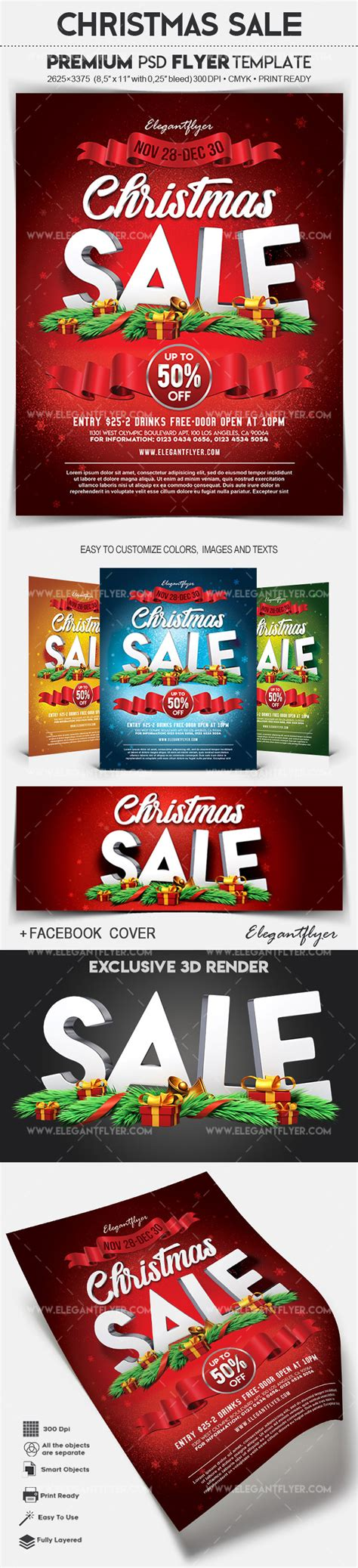 christmas trees for sales flyers tree sale poster by elegantflyer