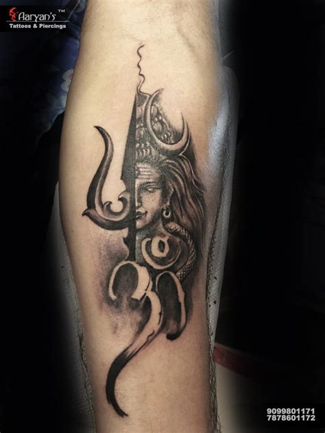 om trishul tattoo designs customised lord shiva tattoos om trishul shiva