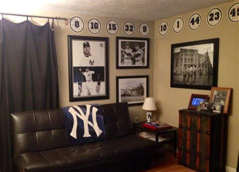 new york yankees bedroom ideas yankees mancave the sports posters blog info on the