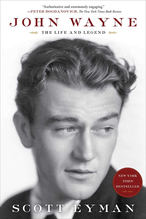 biography john wayne john wayne the life and legend book by scott eyman