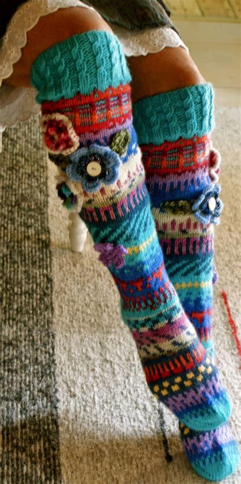 hosiery knitting polvisukat anelma kervinen made in finland villasukat