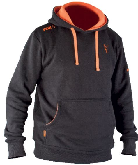 Hoodie Zipper Shimano Zemba Clothing 1 fox black orange hoodie glasgow angling centre