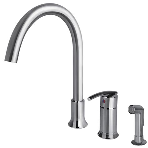 ultra faucets classic collection single handle pull out sweep collection single handle kitchen faucet with side