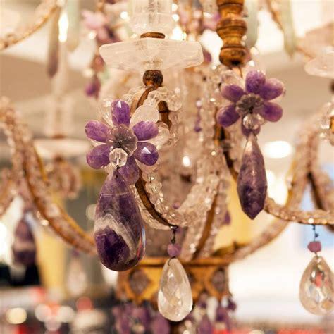 lila kronleuchter 2 antique gold plated chandelier for sale at 1stdibs