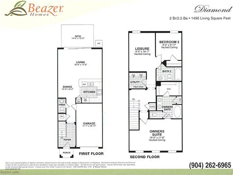 Beazer Home Floor Plans | beazer floor plans 171 home plans home design