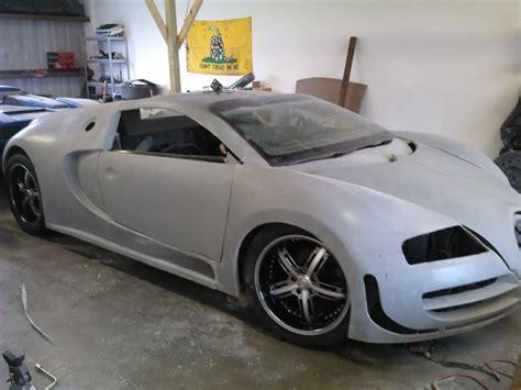 replica bugatti incomplete bugatti veyron replica built from a 2004