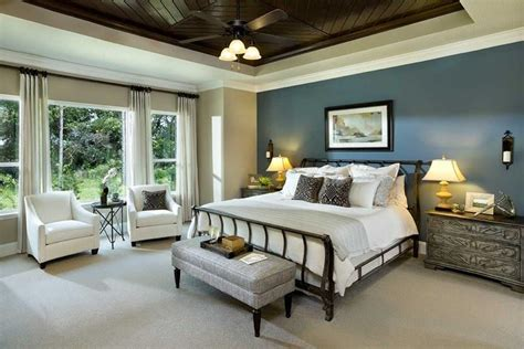 Master Bedroom by 25 Beautiful Bedrooms With Accent Walls