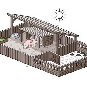 Show Pig Barn Designs 17 Best Ideas About Pig Pen On Pinterest Pig Farming